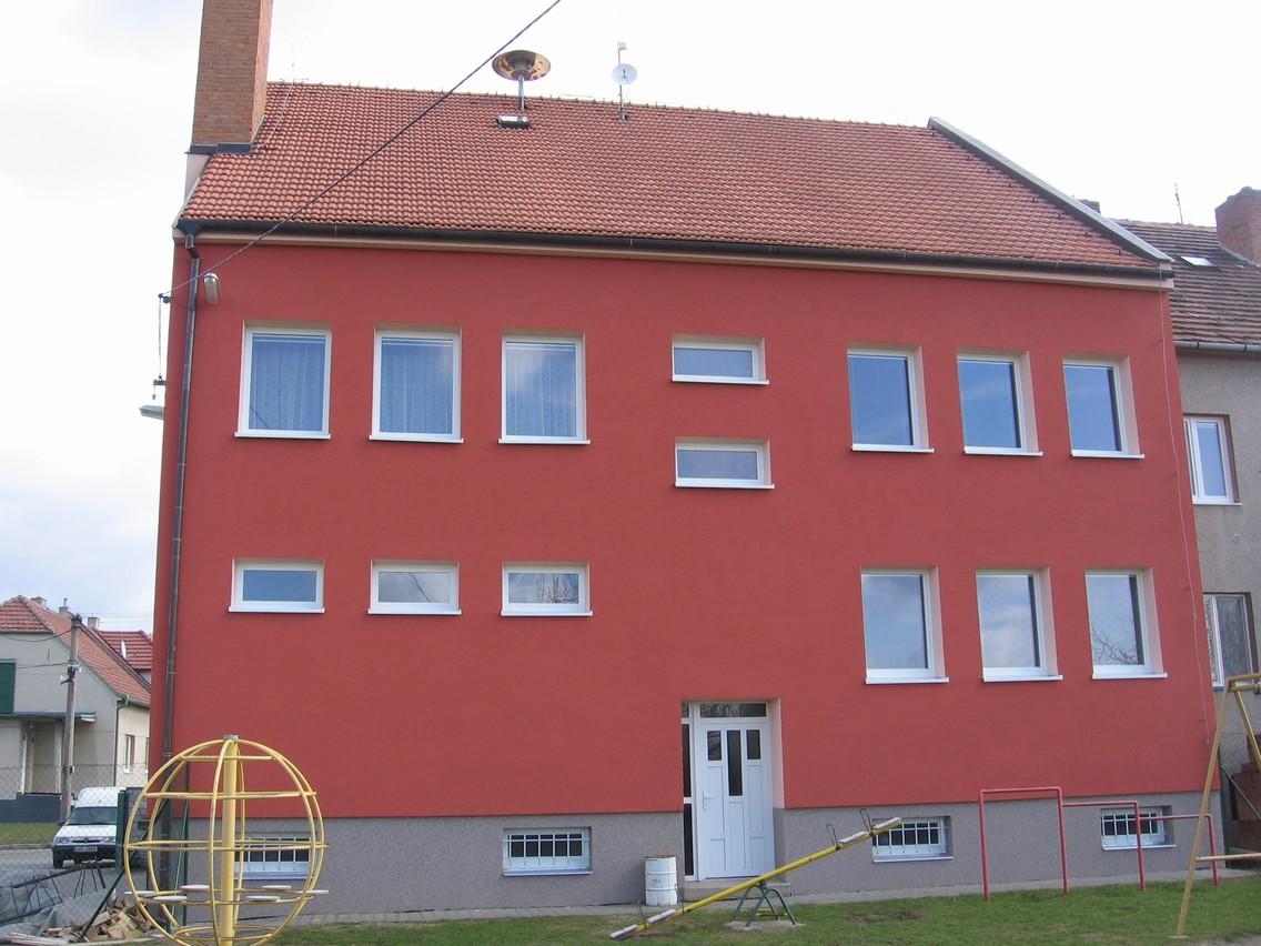 OBRÁZEK : Budova obecniho uradu_rekonstrukce 2009